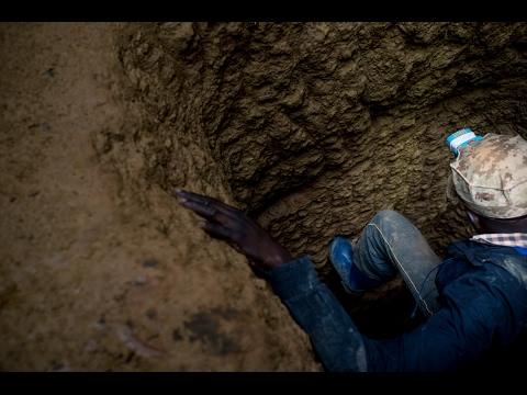 Fiston and Joseph, the miners | Congo's ethical minerals