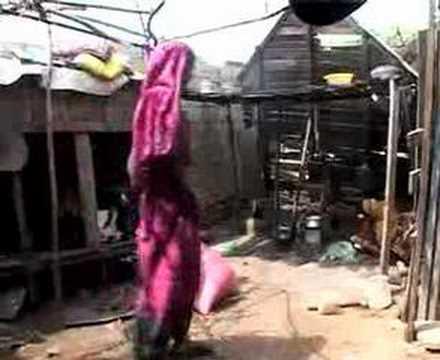 Day in the life of Machar slum family