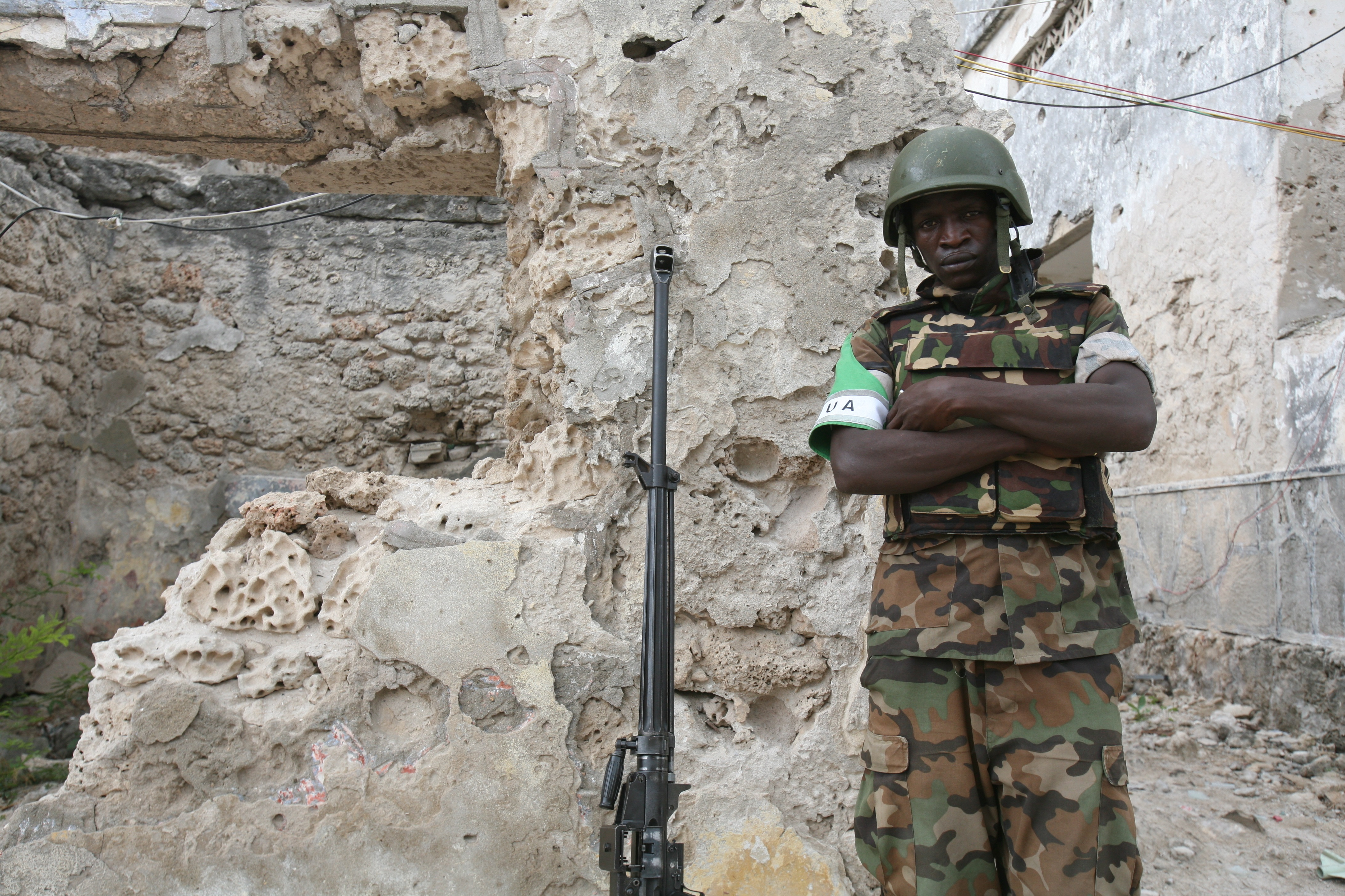 Ugandan soldier AMISOM