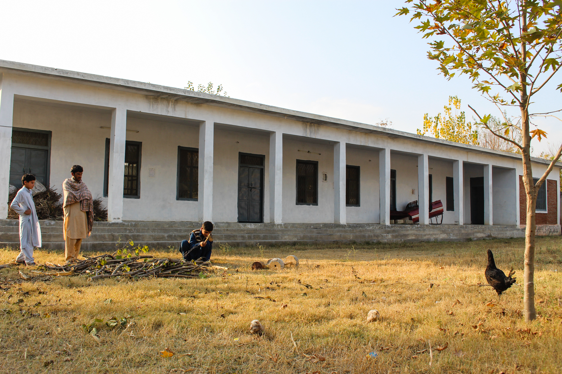 School in Maminzo village, Pakistan