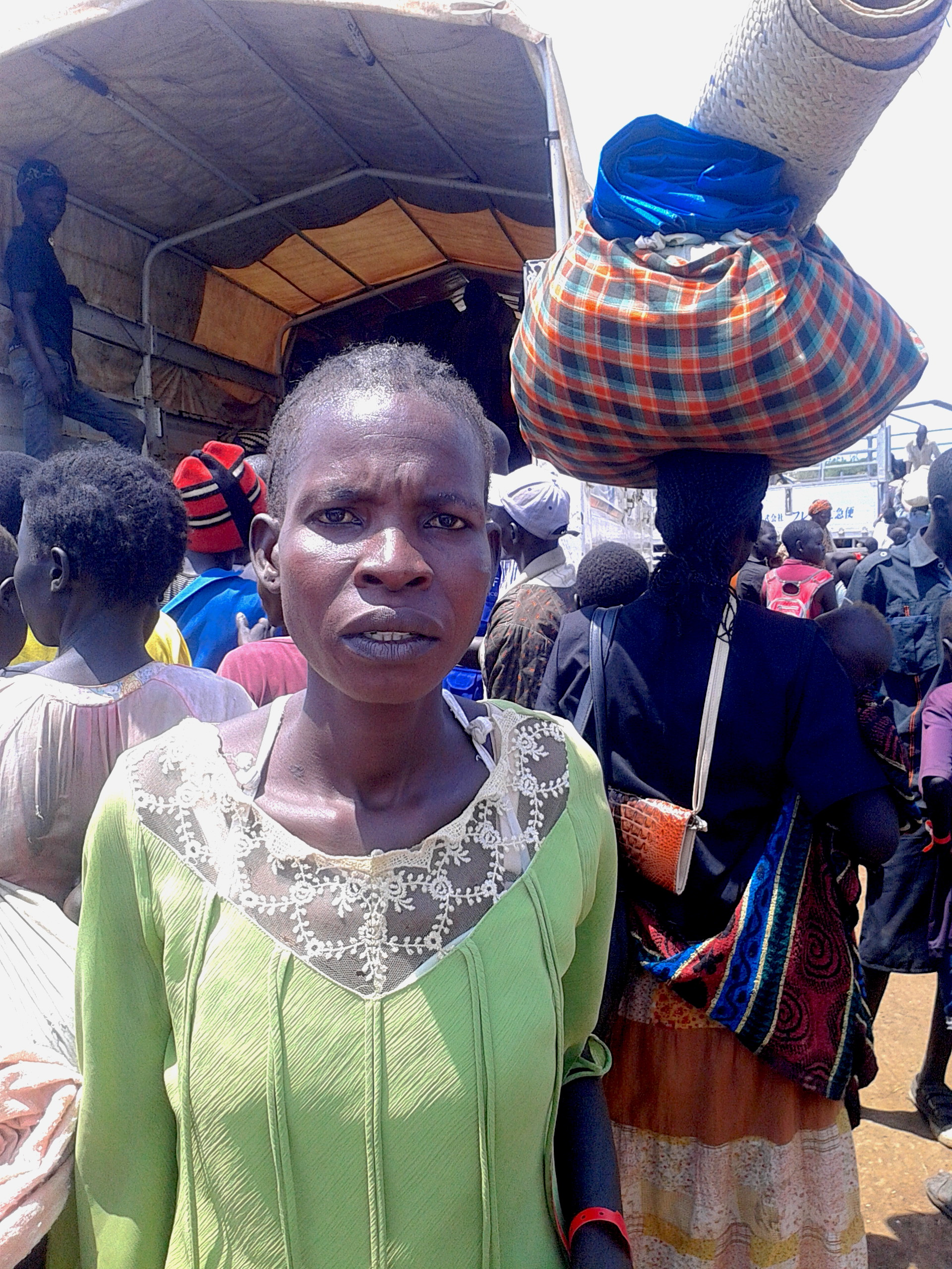 Susan Keji's husband and children were killed in Juba