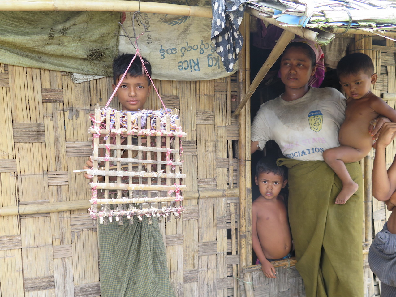 Displaced Rohingyas in Myanmar