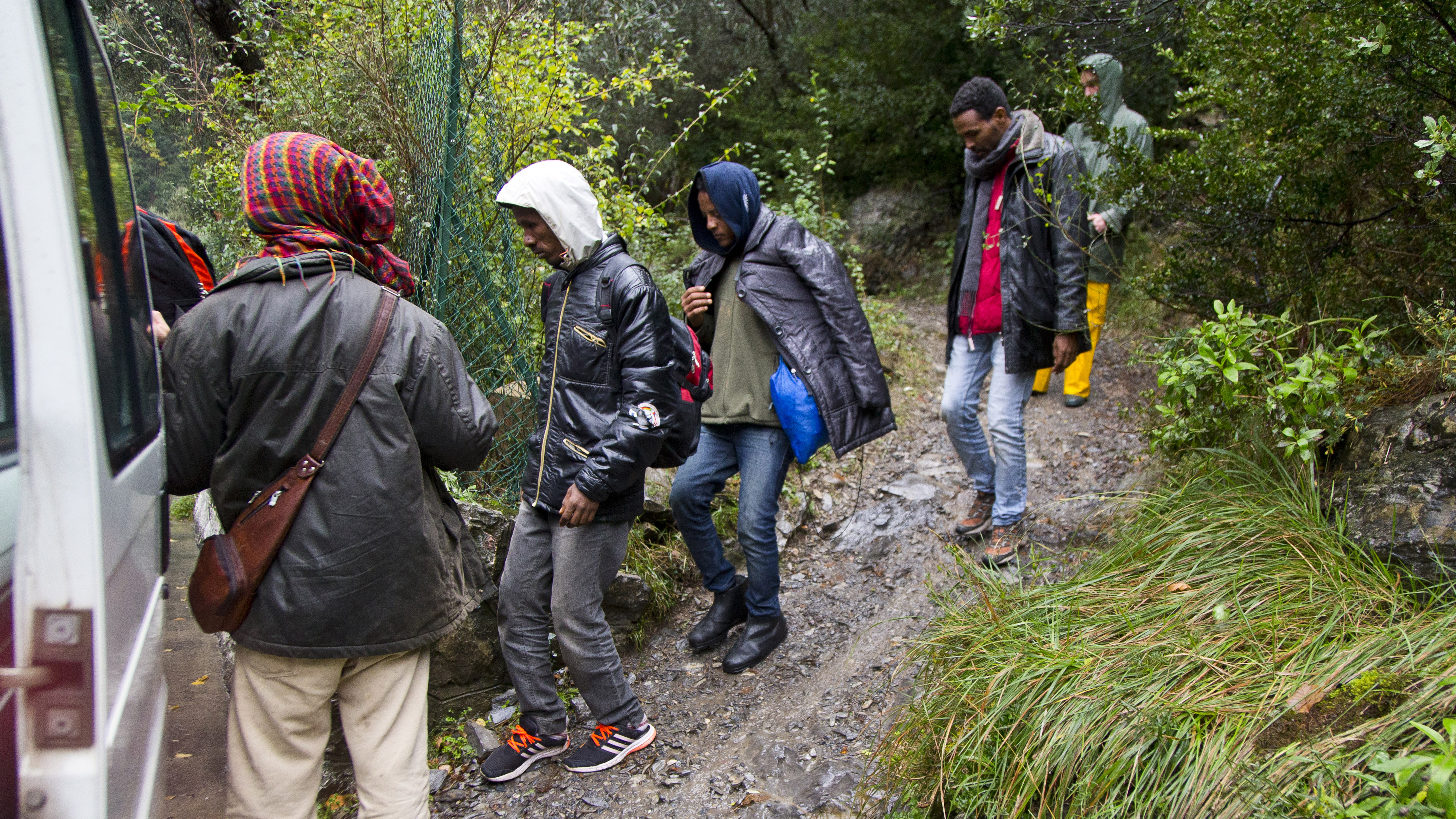 Alpine migrant route into France a dead-end for many