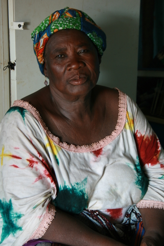 Aridjetou Oumorou, 65, has until recent years been carrying out female genital mutilations (FGM) in her community in central Togo, Tchamba. She agreed to abandon FGM as a requirement to participate in a microcredit loan program