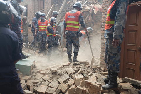 To come - Nepal earthquake 2015