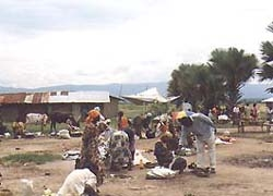 [Uganda] Refugees from Ituri in Western Uganda, November 2002.