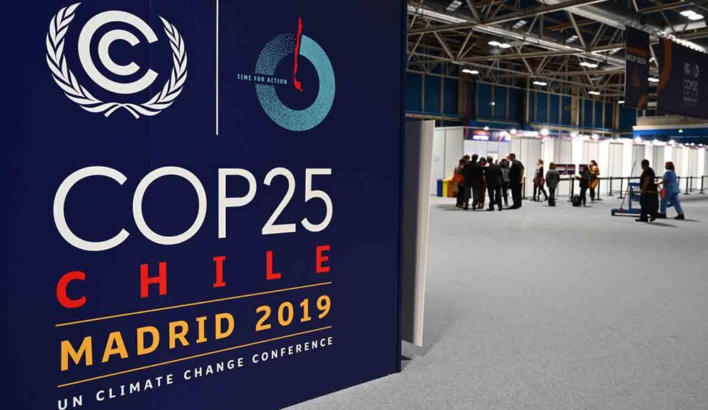 The COP25 climate summit is being held at the IFEMA congress centre in Madrid until 13 December 2019.
