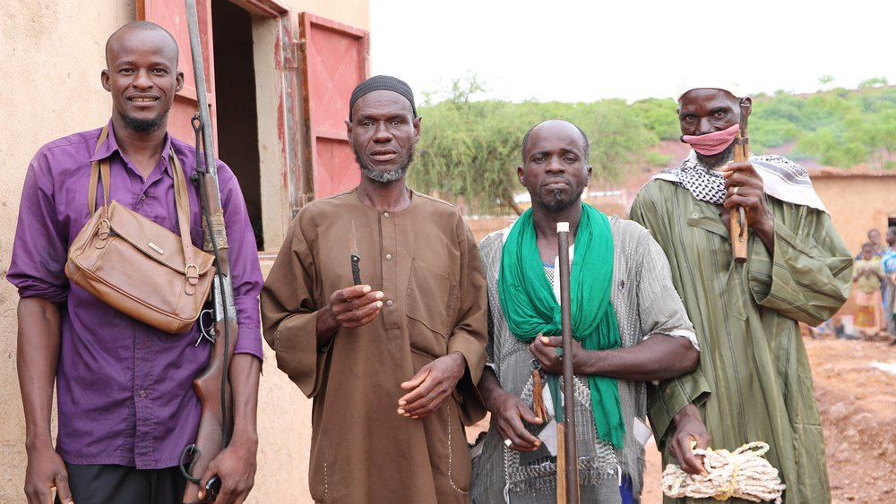 Vigilantes from northern Burkina Faso