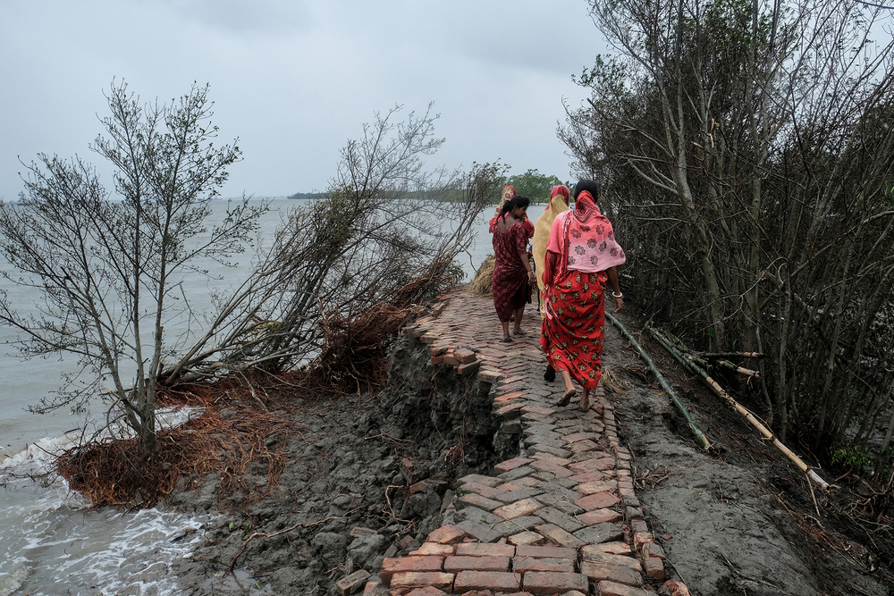 Aftermath of Cyclone Amphan in West Bengal