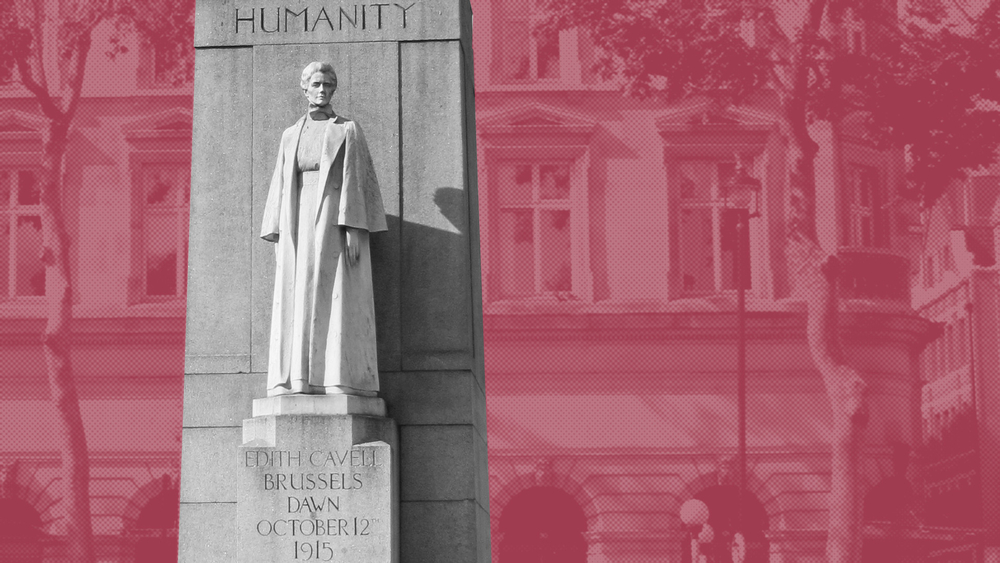The Edith Cavell Memorial in London