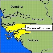 Country Map - Guinea-Bissau