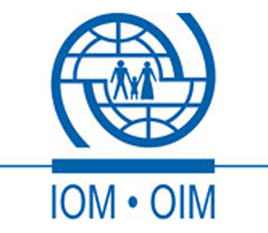International Organization for Migration - IOM logo.