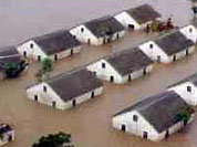 [Mozambique] Flooded Houses