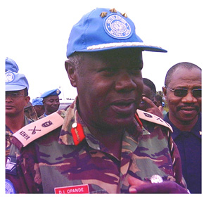 [Liberia] UNMIL Force Commander Daniel Opande: his pas immediate post was in Sierra Leone.