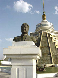 [Turkmenistan] The cult of the leader.