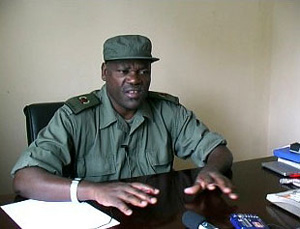 [Uganda] Ugandan army spokesman Shaban Bantariza says the LRA is difficult to track down.