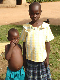 [Uganda] Lanyera Yona and her sister, Fatuma, both born in LRA captivity.