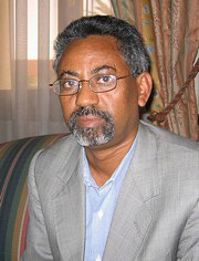[Eritrea] Yemane Gebremeskel, Director of the President's Office.