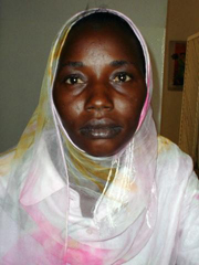 [Sudan] Omjameal Marshue Mohammed after serving a 10-year jail term in Omdurman. [Date picture taken: October 2005]