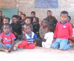 [Swaziland] ovc at a Neighbourhood Care Point.