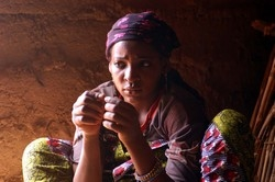 [Niger] Sabila, 15 has been repeatedly mistreated by her slave master, often being raped. She was born into slavery. She is one of among 43,000 people enslaved in the West African country - who earn no money for their efforts. Most are physically and ofte