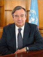 UN High Commissioner for Refugees, António Guterres.