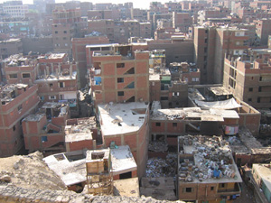 [Egypt] Menshiet Nasser - home of the zabaleen [rubbish collectors] and one of Cairo's largest slums. [Date picture taken: 06/17/2006]
