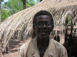 [Chad] CAR refugee at Gondje camp, southern Chad. [Date picture taken: 05/29/2006]