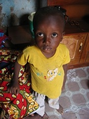[Nigeria] Mustapha Kabiru is three years old and crippled by polio - he has only partial use of his right leg. His father stopped the child from having a free polio vaccination after Muslim and political leaders in Kano, Northern Nigeria, said the vaccine