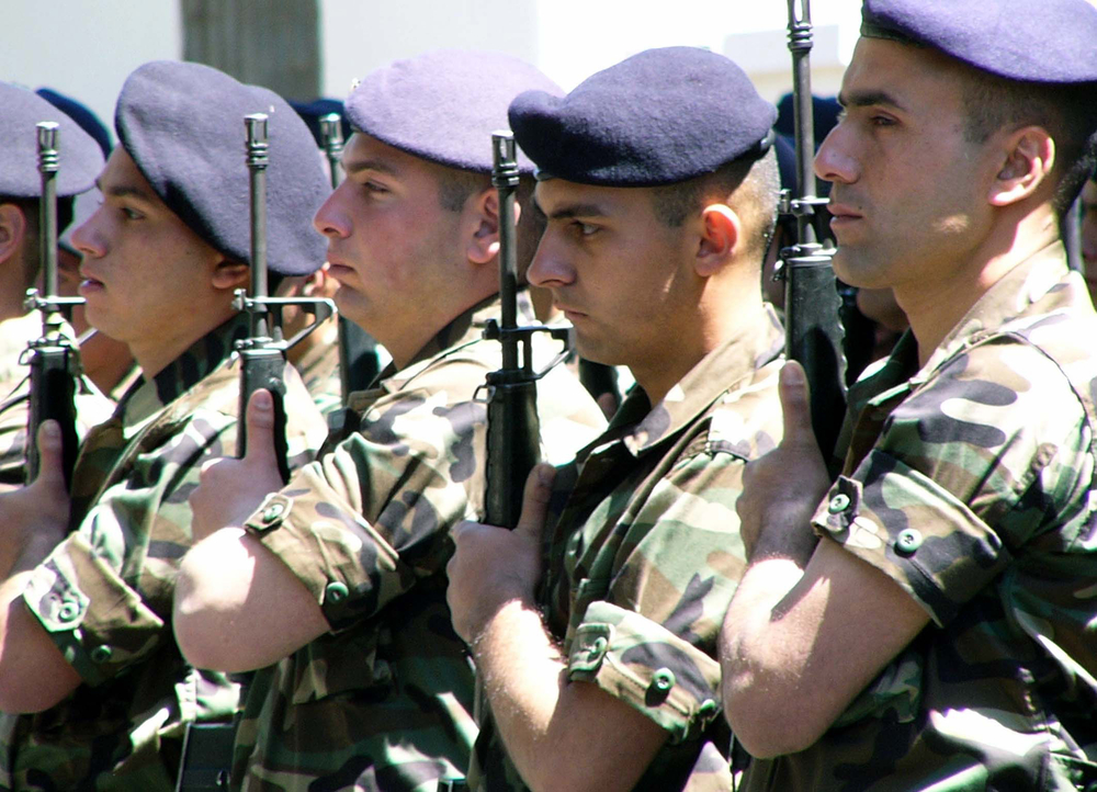 "UN resolution 1559 demands the only arms in Lebanon are carried by the Lebanese army. In its latest report on the unimplemented 1559, the UN warned of possible ""widespread rearming"" and ""renewed conflict among the Lebanese."" Lebanon has about 70,000 activ"