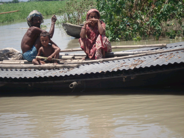 Approximately one third of Bangladesh floods each year during the monsoon, badly affecting development efforts on the ground.
