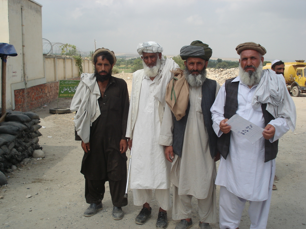 Displaced people say they could not take their belongings with them when fleeing from the conflict in Tora Bora.