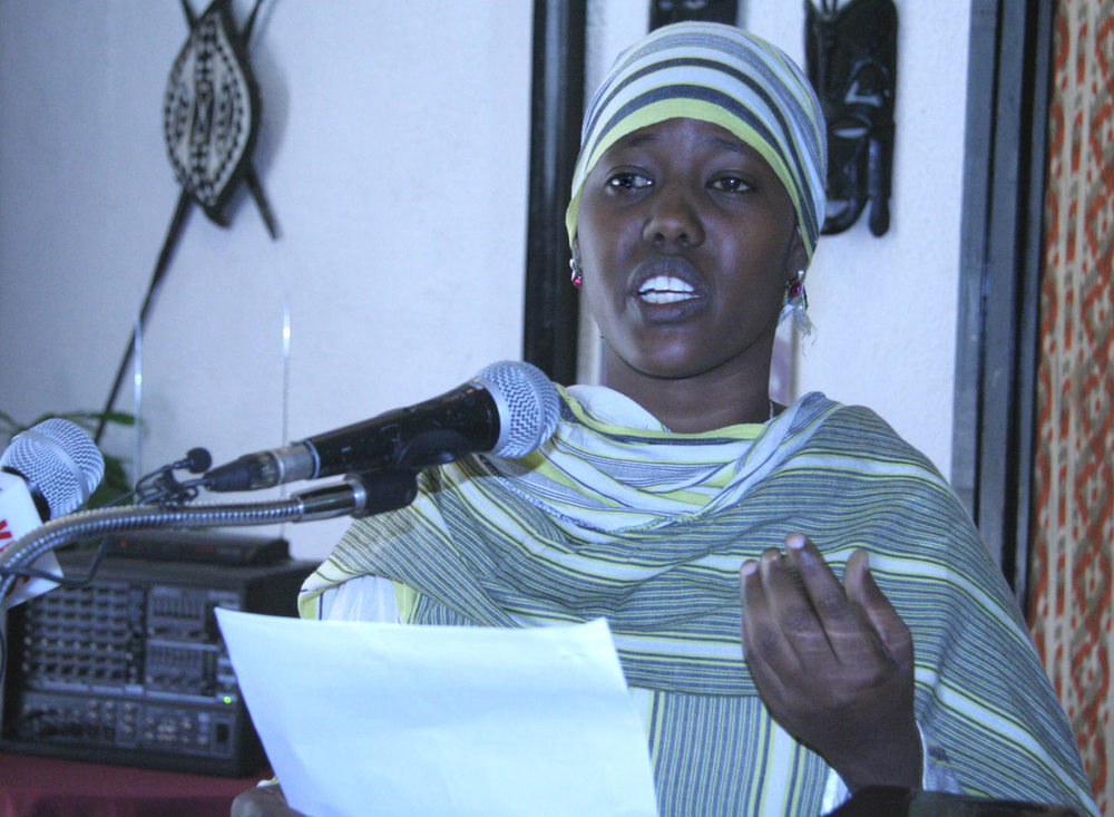 Fartun Abdi Ahmed, Community Outreach Worker/Somali Translater with GTZ, based in Nairobi's Eastleigh area. She is also a survivor of female genital mutilation (FGM)