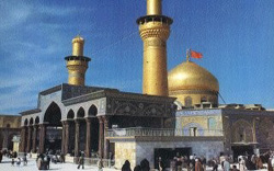 [Iraq] The shrine of Imam Hussein in Karbala.  [Date picture taken: 01/25/2007]