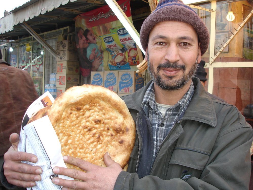 Rising wheat prices over the past year has resulted in a 60 percent jump in the price of a loaf of bread - a staple part of the Afghan diet.