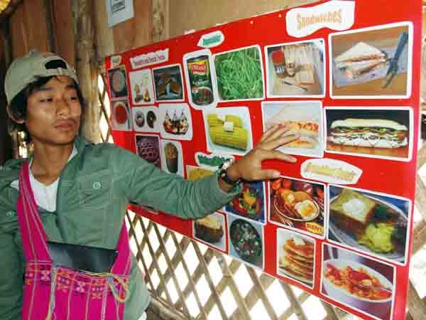 Burmese (Myanmar) refugees are told that when they get to their new host countries they can expect to gain some weight because of the richer diet.