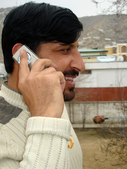 Officials at Afghanistan's National Disasters Management Authority said mobile phones were one of its major communication tools all over the war-torn country.