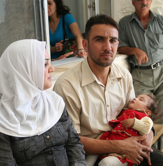 Only 4 percent of Iraqis living in Jordan can afford proper medical care.
