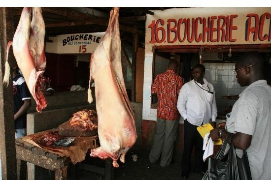 Rising prices of several basic foodstuffs including beef resulted in rioting in Abidjan in late March
