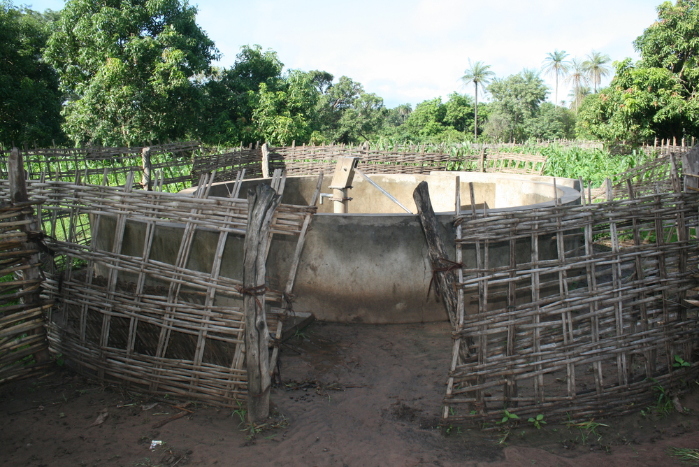 Well in Guinea-Bissau.