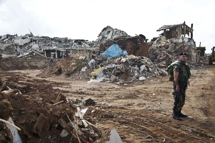 The 15-week conflict last year between the army and Fatah Islam insurgents leveled the old camp.