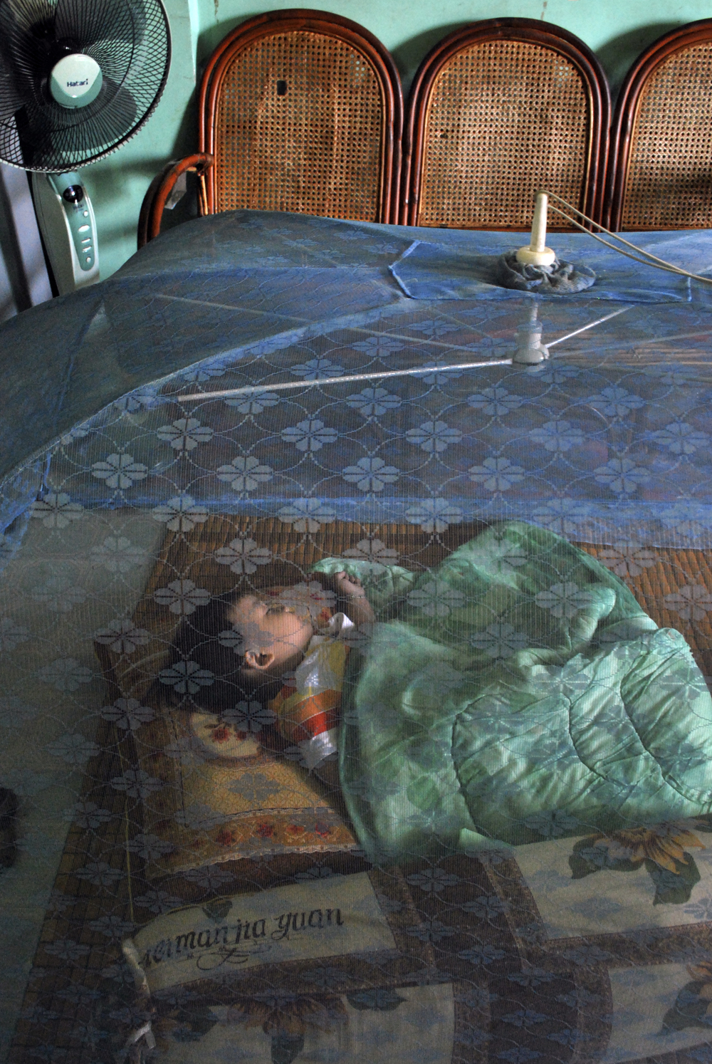 Malaria continues remains a source of concern in Cambodia. Some 54,000 cases were reported in 2008