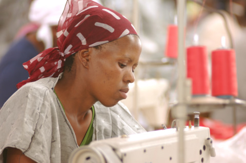 A 2007 survey found that 43 percent of Lesotho's garment workers were HIV-positive