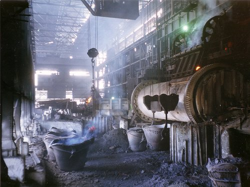 Copper smelter