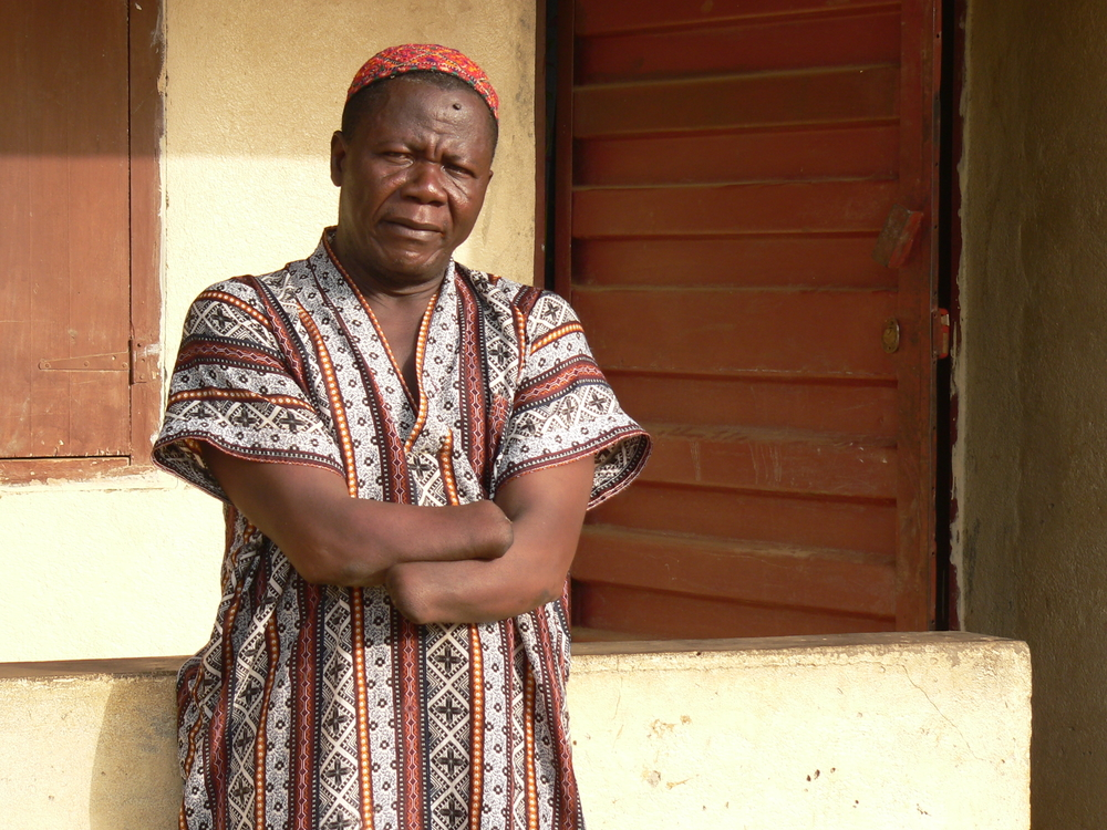 Lamin Jusu Jaka, chair of Sierra Leone's Amputees and War Wounded Association, would prefer cash to social services for reparations