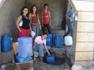 The village well in Rachaya Casa, Lebanon where the International Development Research Centre (IDRC) is promoting the use of treated greywater for irrigation