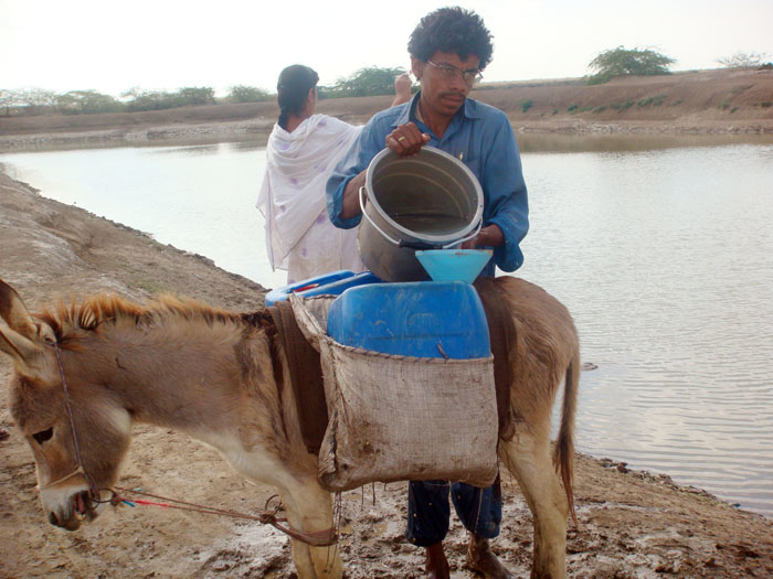 Pakistan, one of the world's most arid countries, is currently experiencing water stress and will soon face outright water scarcity