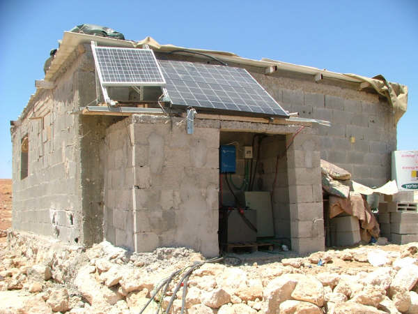 A new project supplies electricity to Palestinian villages in South Mount Hebron Area