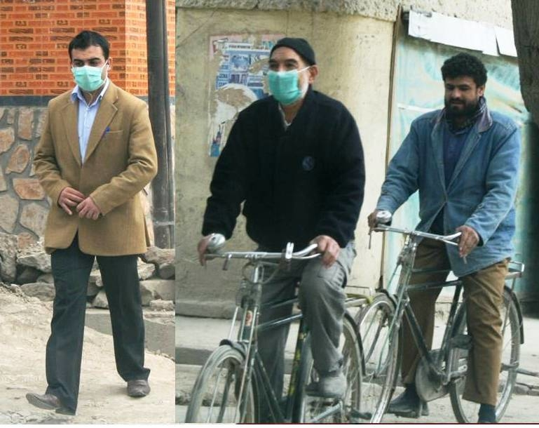 The health ministry has advised people to use masks in public places in order to reduce H1N1 infections