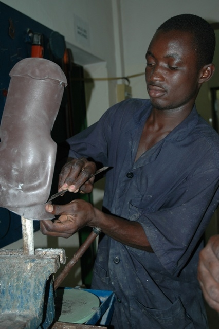 Manufacturing prosthetics at CARK
